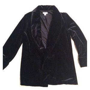 Jackets & Blazers - Velvet Blazer